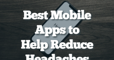 Best Mobile Apps to Help Reduce Headaches