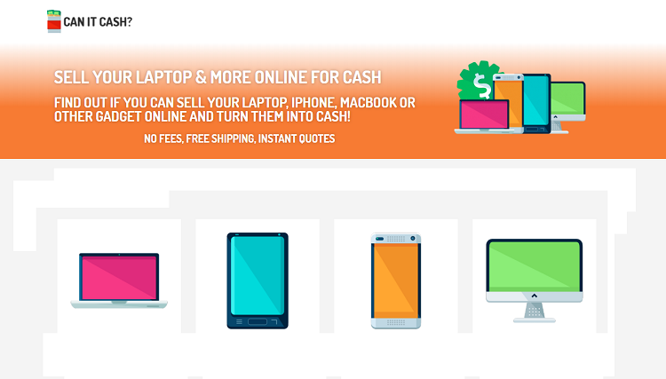 sell your used and old electronics on  Canitcash
