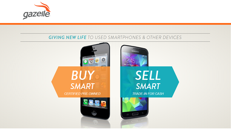 Gazelle.com is surfing best-refurbished smartphones, tablets, and iPads etc