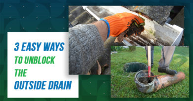 learn how to Unblock the Outside Drain
