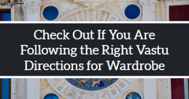 Check Out If You Are Following the Right Vastu Directions for Wardrobe