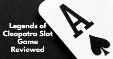 Legends of Cleopatra Slot Game Reviewed