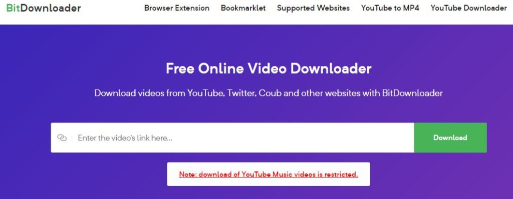 bitdownloader best video downaloder for youtube
